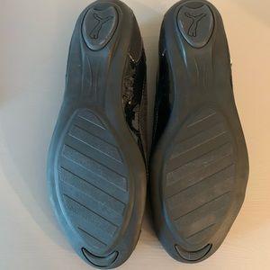 Puma Shoes - Puma Slip-On Black Ballet Flats US sz 7.5